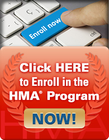 Click Here To Enroll In The HMA Program Now
